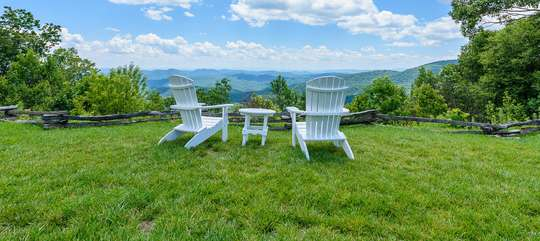 One of Many Breath-Taking Overlooks in the Blue Ridge Mountain Club