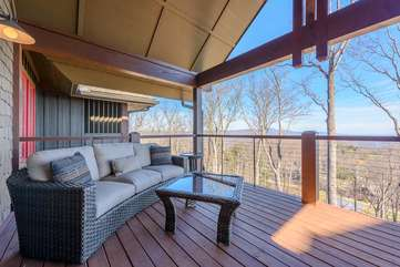 Juliette Deck off of the Upstairs Master Suite
