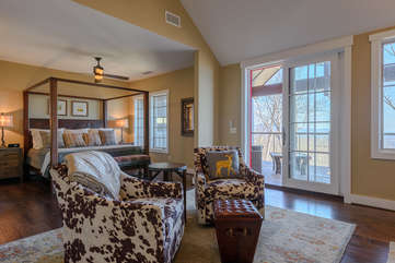 Private King Master Suite