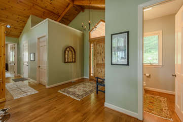Entryway at Linville Ridge Retreat