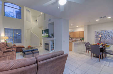 Open and creative floor plan enhances ambiance in chic and comfortable 3 BR condo