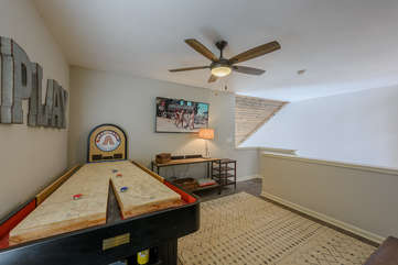 Bounce-back Shuffleboard Game Table and 55