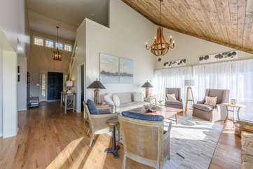 Main Level features Hardwood Floors throughout