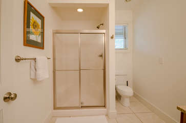 Downstairs Full Bathroom with Large Shower
