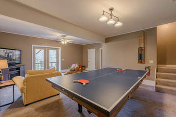 Ping Pong Table Topper for Pool Table in Game Room