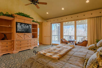 Enjoy the Mountain Views in the Primary King Master Suite