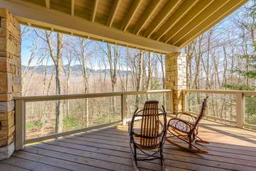 Covered Deck off of Primary Master Suite