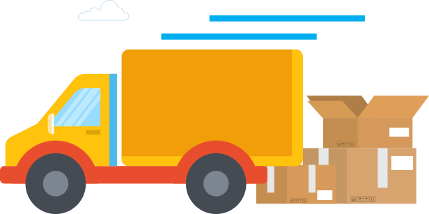 Uparcel Van and Lorry delivery