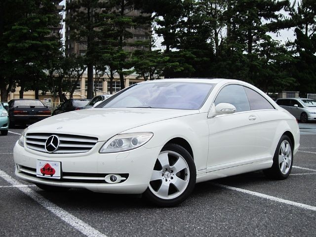 Used 2007 AT Mercedes Benz CL-Class DBA-216371