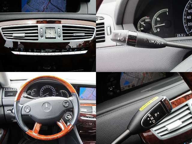 Used 2007 AT Mercedes Benz CL-Class DBA-216371 Image[4]