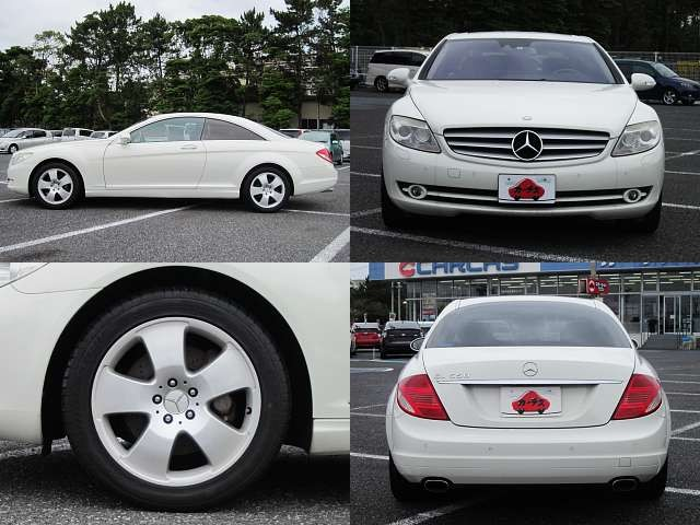 Used 2007 AT Mercedes Benz CL-Class DBA-216371 Image[8]
