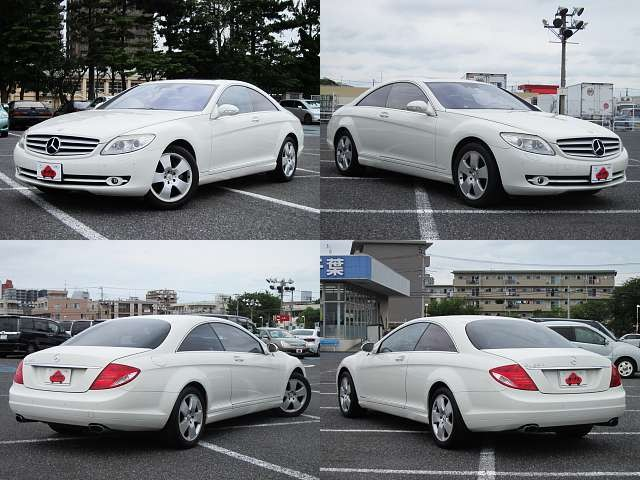 Used 2007 AT Mercedes Benz CL-Class DBA-216371 Image[9]