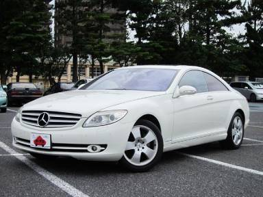 2007 AT Mercedes Benz CL-Class DBA-216371