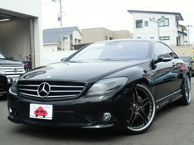 Used 2008 AT Mercedes Benz CL-Class DBA-216371