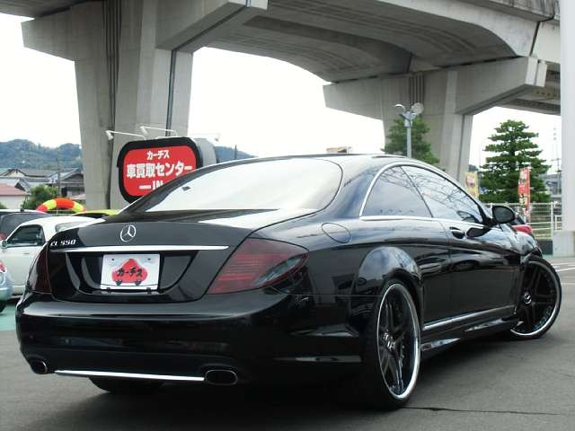 Used 2008 AT Mercedes Benz CL-Class DBA-216371 Image[2]
