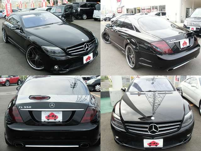 Used 2008 AT Mercedes Benz CL-Class DBA-216371 Image[8]