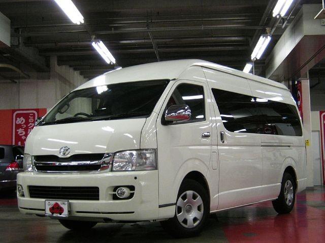 Used 2009 AT Toyota Hiace Van CBA-TRH224W