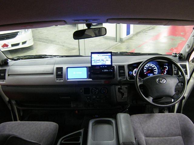 Used 2009 AT Toyota Hiace Van CBA-TRH224W Image[1]