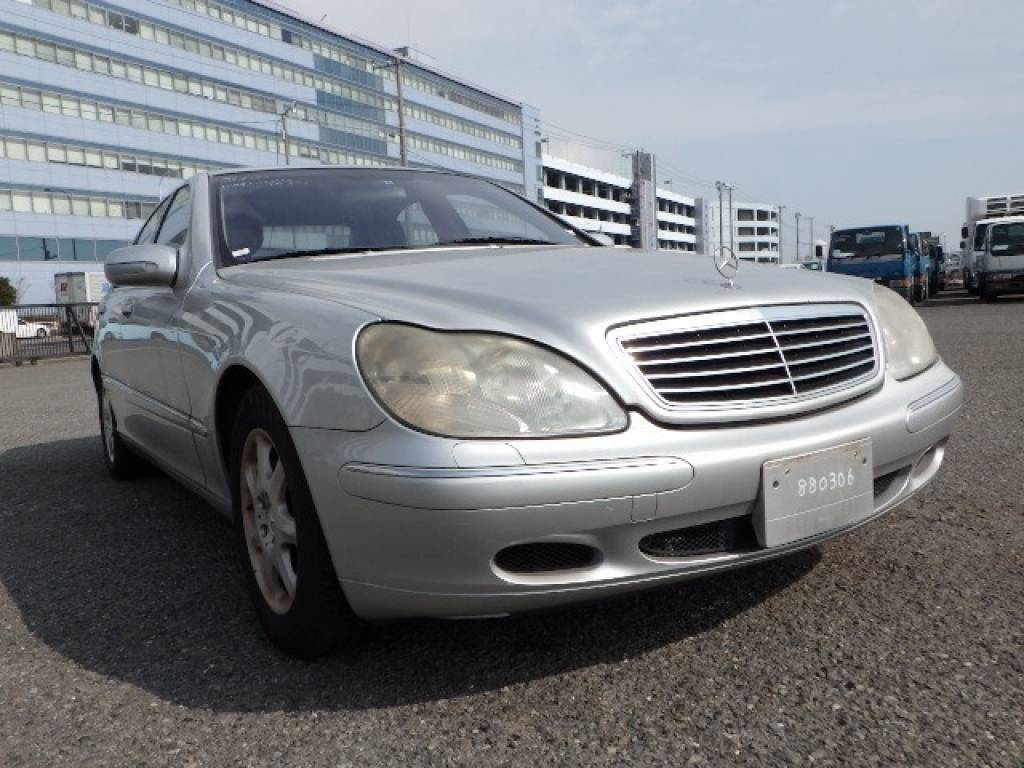 Used 1999 AT Mercedes Benz S-Class 220075 Image[2]