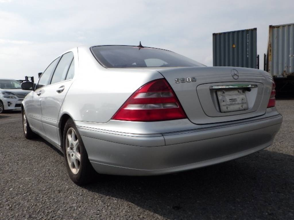 Used 1999 AT Mercedes Benz S-Class 220075 Image[3]