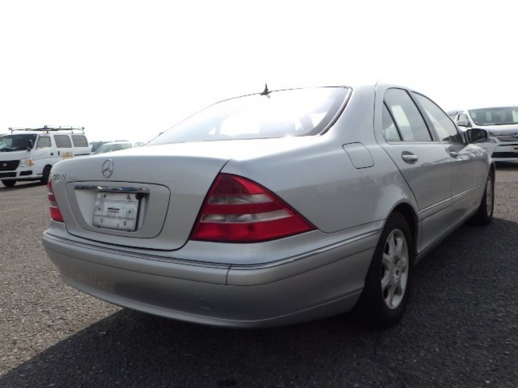 Used 1999 AT Mercedes Benz S-Class 220075 Image[5]