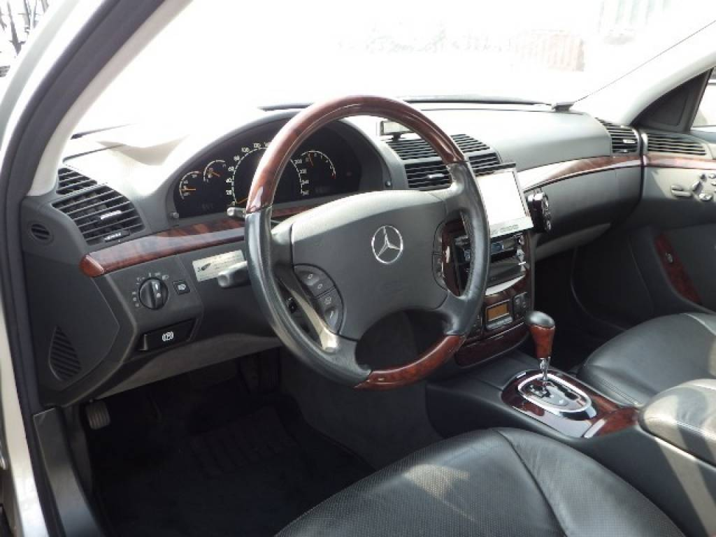 Used 1999 AT Mercedes Benz S-Class 220075 Image[8]