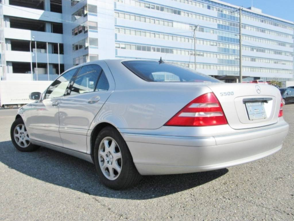 Used 1999 AT Mercedes Benz S-Class 220075 Image[14]