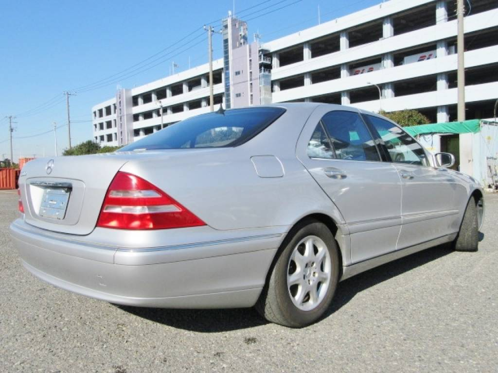 Used 1999 AT Mercedes Benz S-Class 220075 Image[16]