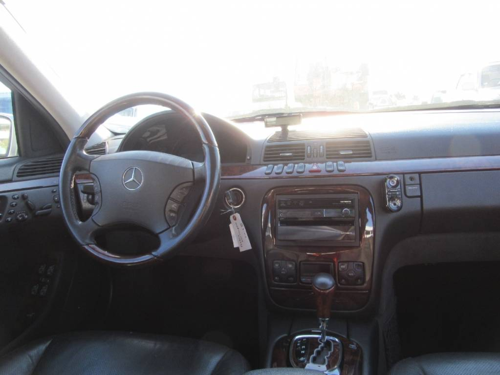 Used 1999 AT Mercedes Benz S-Class 220075 Image[24]