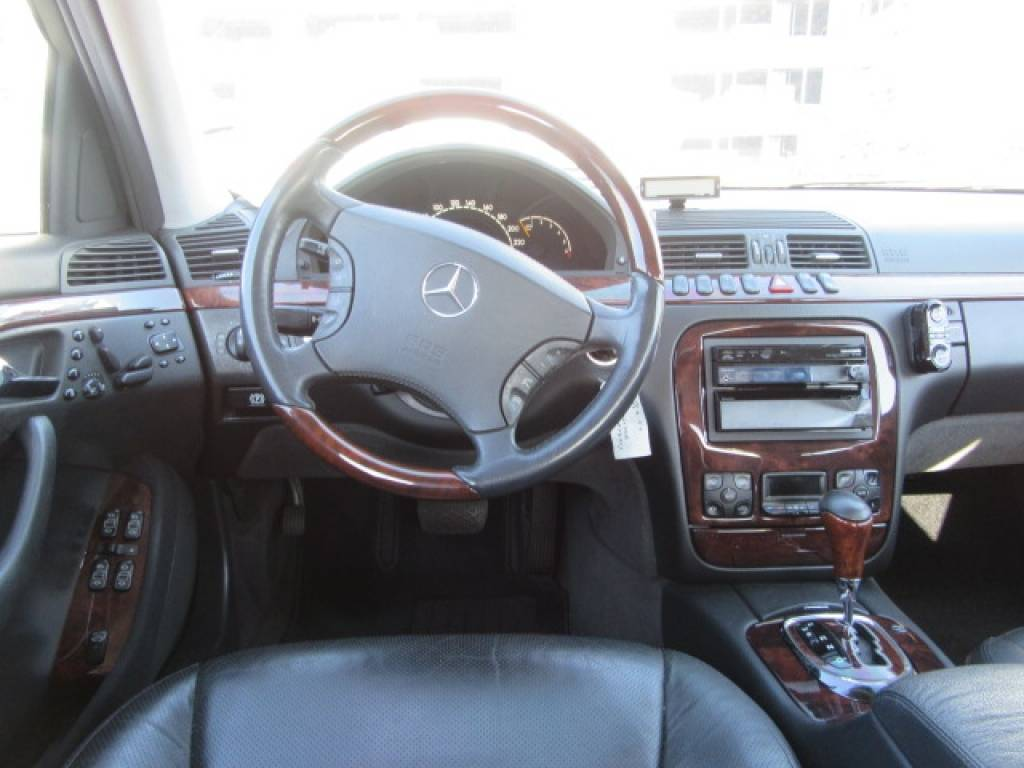 Used 1999 AT Mercedes Benz S-Class 220075 Image[31]