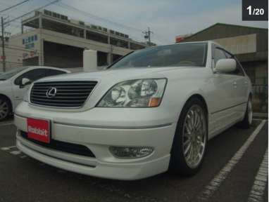 2001 AT Lexus LS UCF30