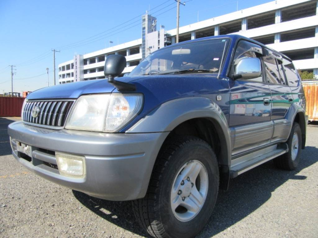 Used 1999 AT Toyota Land Cruiser Prado KZJ95W