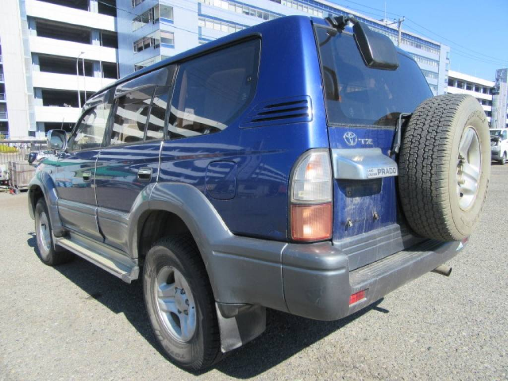 Used 1999 AT Toyota Land Cruiser Prado KZJ95W Image[1]