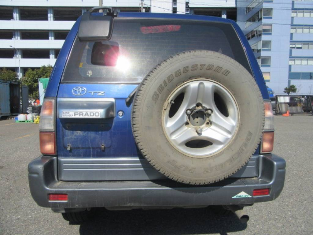 Used 1999 AT Toyota Land Cruiser Prado KZJ95W Image[3]