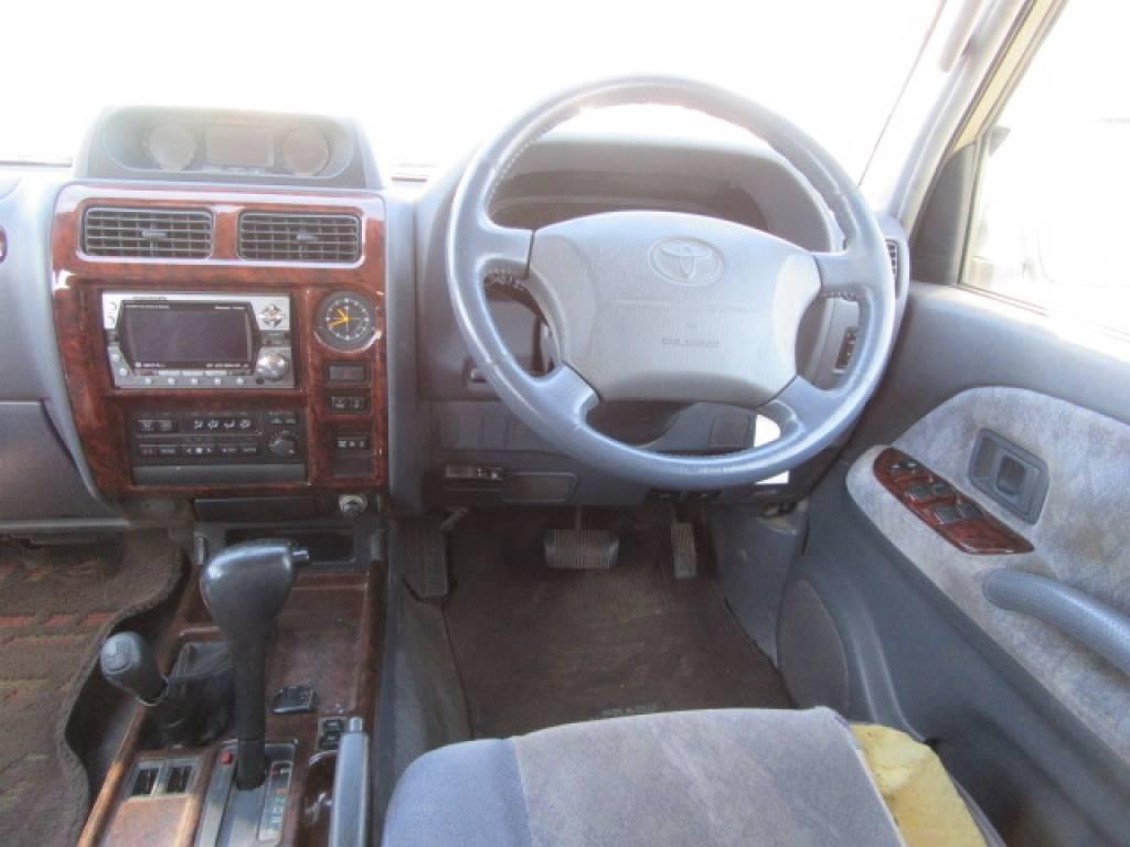 Used 1999 AT Toyota Land Cruiser Prado KZJ95W Image[8]