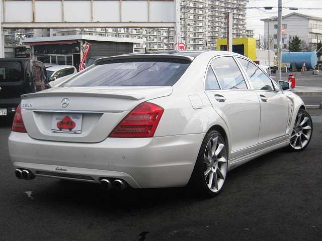 Used 2006 AT Mercedes Benz S-Class ABA-221176 Image[2]
