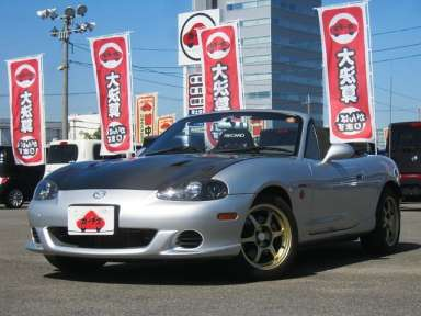 2004 MT Mazda Roadster GH-NB8C