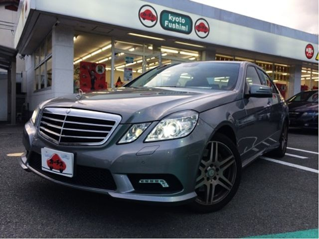 Used 2010 AT Mercedes Benz E-Class CBA-212072