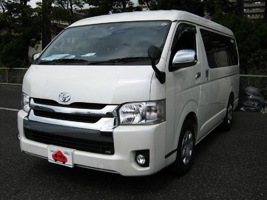 Used 2014 AT Toyota Hiace Van CBA-TRH214W