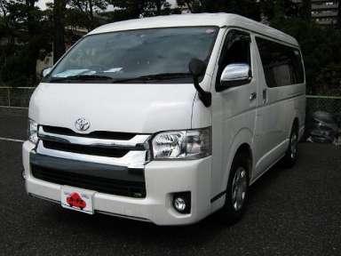 2014 AT Toyota Hiace Van CBA-TRH214W