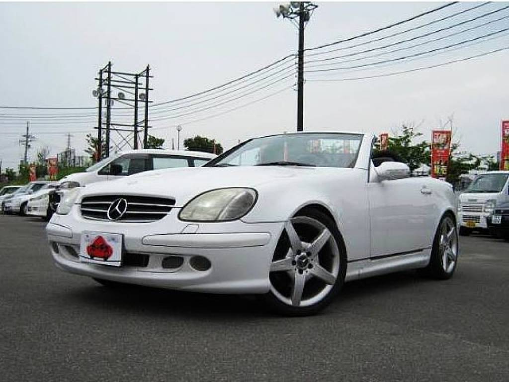 Used 2001 AT Mercedes Benz SLK GF-170465