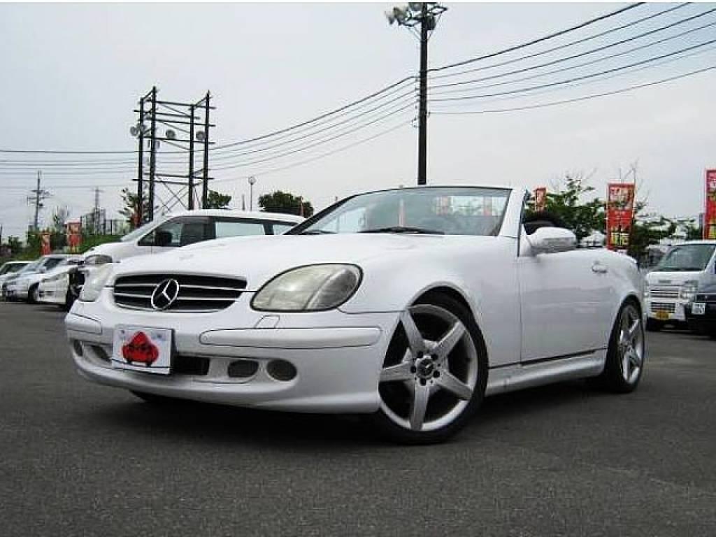 Used 2001 AT Mercedes Benz SLK Class GF-170465