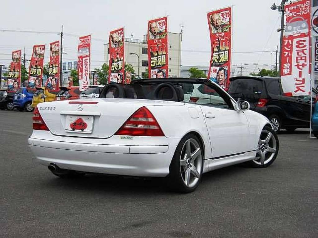 Used 2001 AT Mercedes Benz SLK GF-170465 Image[2]