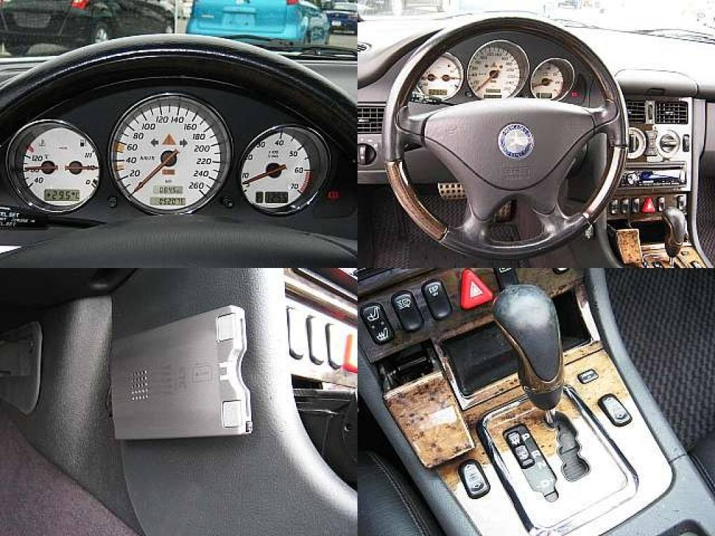 Used 2001 AT Mercedes Benz SLK Class GF-170465 Image[5]