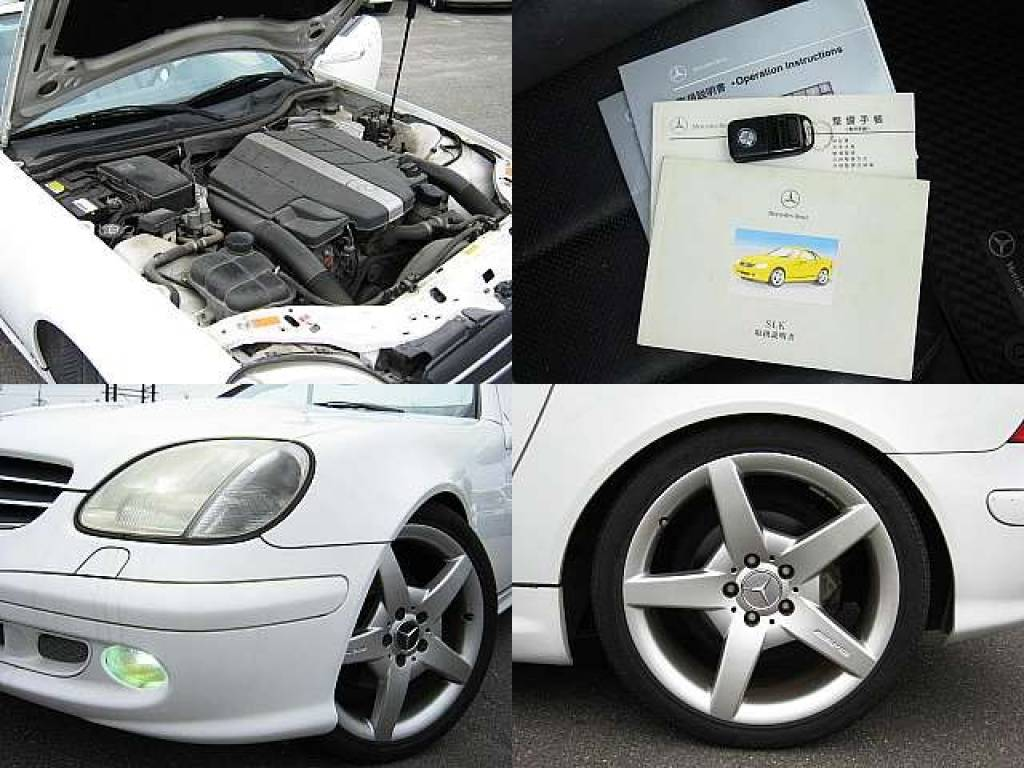 Used 2001 AT Mercedes Benz SLK Class GF-170465 Image[7]