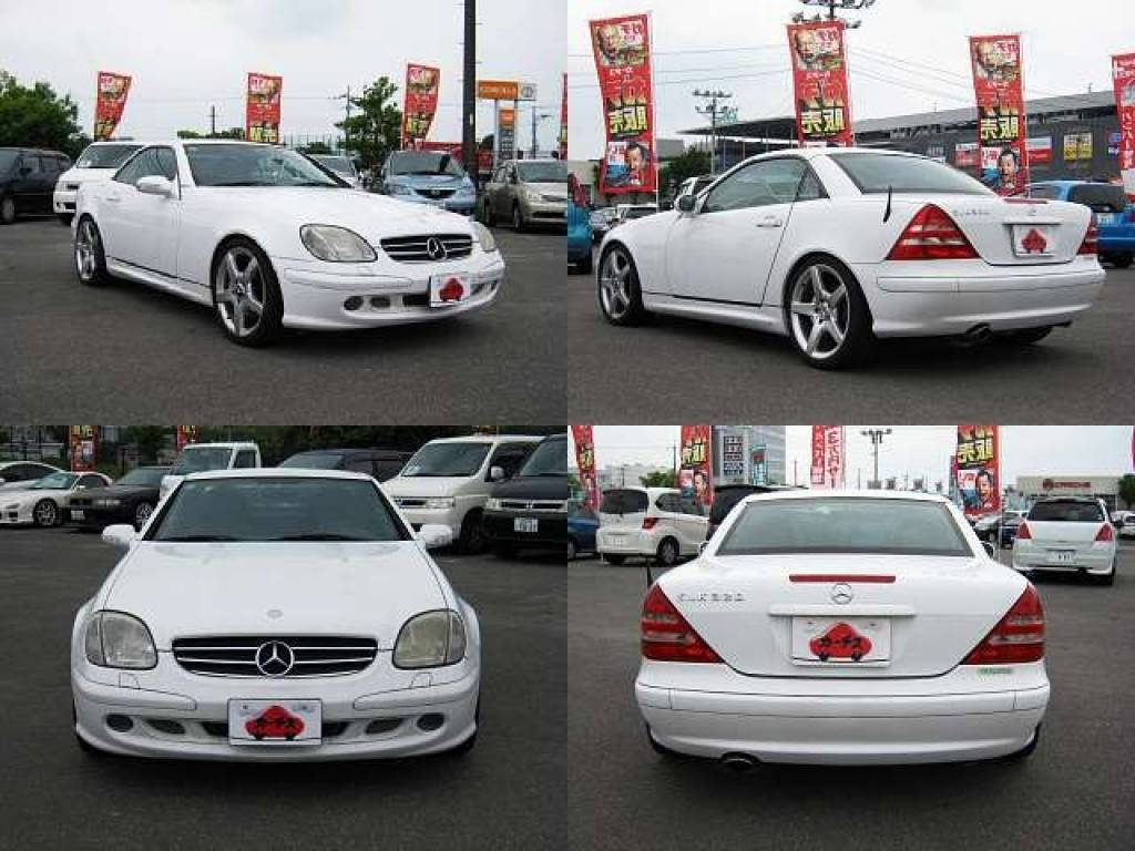 Used 2001 AT Mercedes Benz SLK Class GF-170465 Image[8]