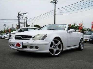 2001 AT Mercedes Benz SLK GF-170465
