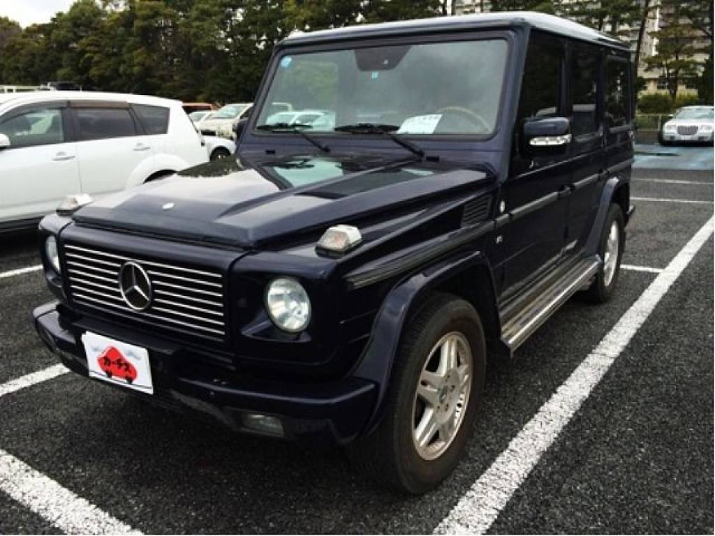 Used 2002 AT Mercedes Benz G-Class 不明