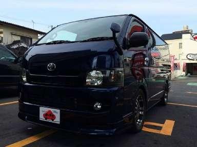 2007 AT Toyota Hiace Van CBF-TRH200V
