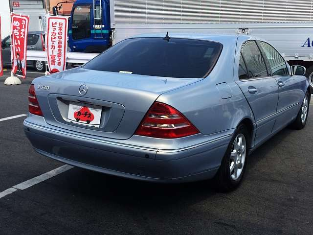 Used 1999 AT Mercedes Benz S-Class GF-220065 Image[2]